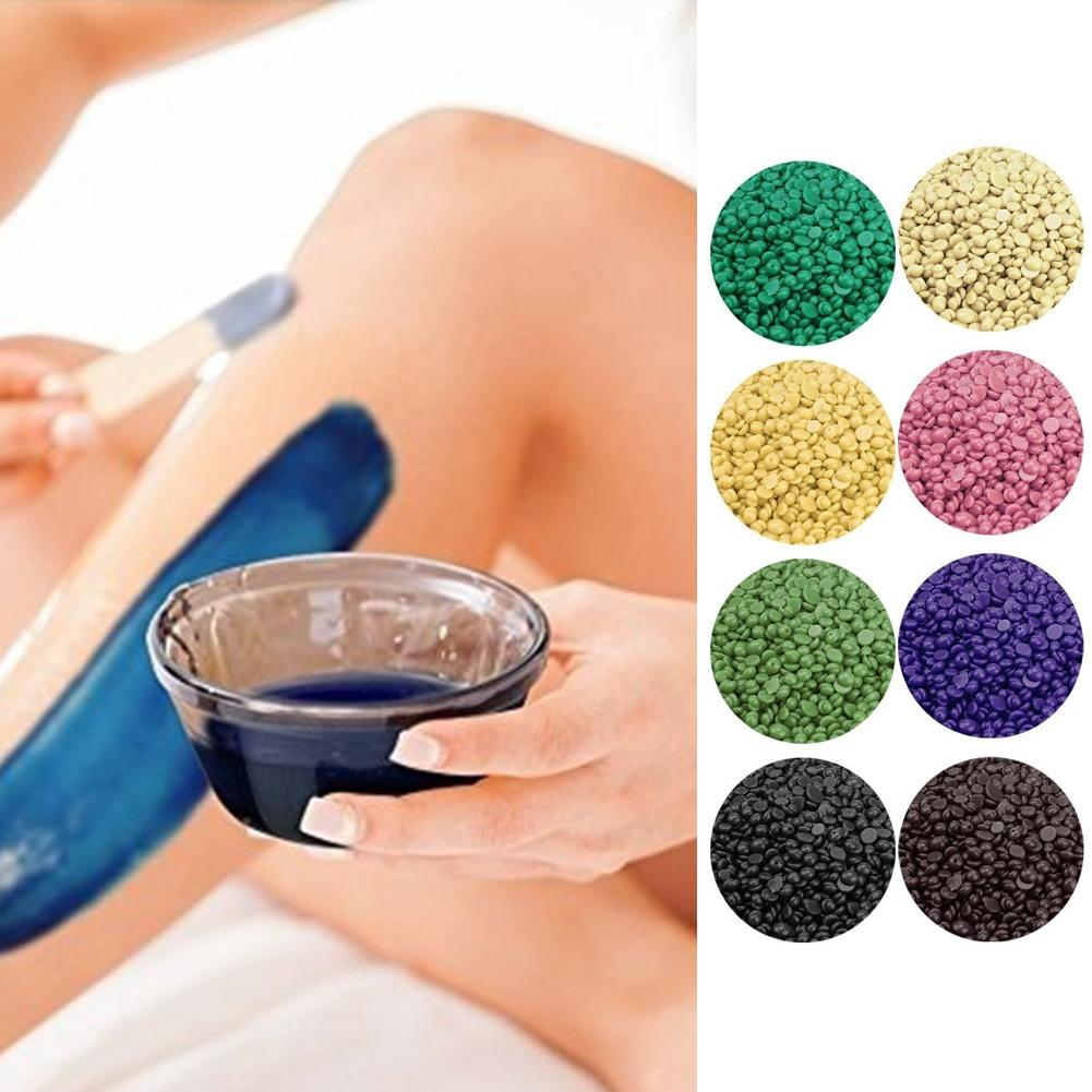 8 Flavors 50g Pack Depilatory Wax Beans Solid Hard Wax Beans Unisex Armpit Arm Legs Epilation Private Hair Removal Painless Stri