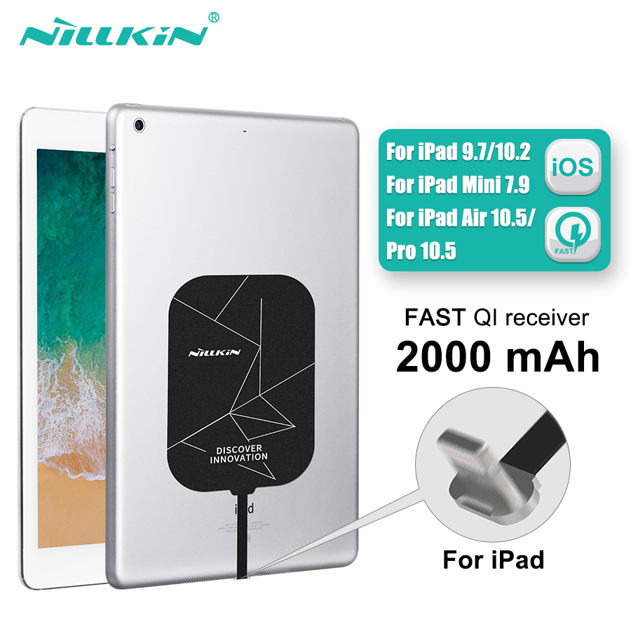 Wireless Charging Receiver For iPad 10.2 / 9.7 / 12.9 for iPad Pro 10.5 Nillkin Magic Tag X Qi Wireless Charger Receiver Chip
