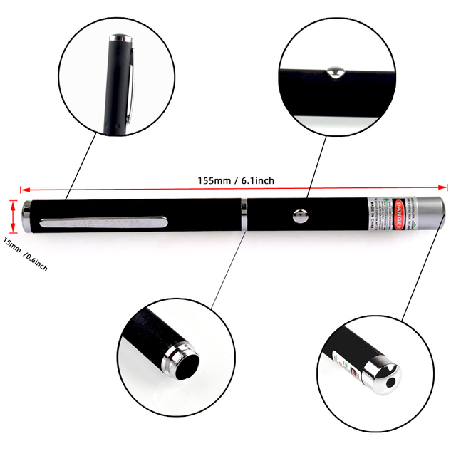 Green Laser Pen 5mw 530nm 405nm 650nm High Power Red Lasers Pointer Sight Powerful Lazer Pen for Office School 4