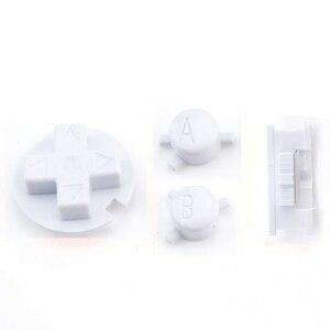 Image 4 - JCD 10 ensemble de boutons colorés ensemble de remplacement pour Gameboy couleur pour GBC Console de jeu bouton marche/arrêt claviers A B D Pads bouton