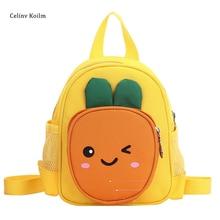Celinv Koilm Kindergarten School Bag New Product Cute Fruit Children