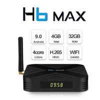 AllWinner H6 Android9.0 Tv Box 4GB DDR3 32GB ROM 2.4G 5G WIFI LAN 100M Support U DISK&USB HDD TF Card Reader Blutooth4.1 TV Box