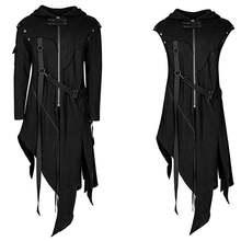 Мужская куртка с длинным рукавом в стиле стимпанк викторианской