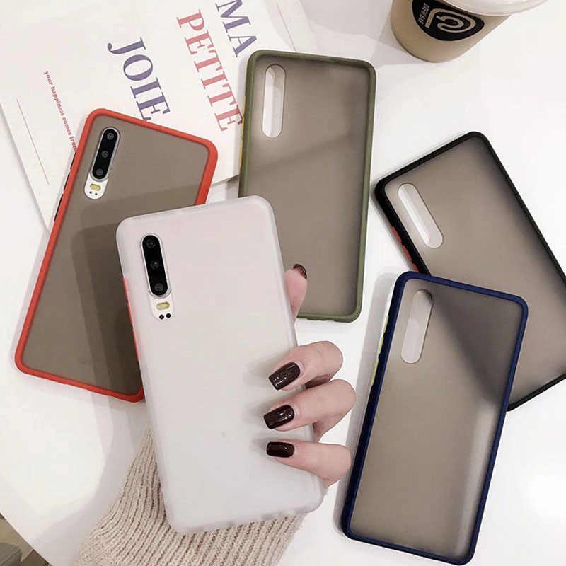 Mờ Cứng Ốp Lưng Điện Thoại Samsung Galaxy S10E S8 S9 S10 Ốp Lưng Note 8 9 10 J8 J6 J4 Plus a9 A7 2018 A70 A50 M40 M30 M20 M10 Bao