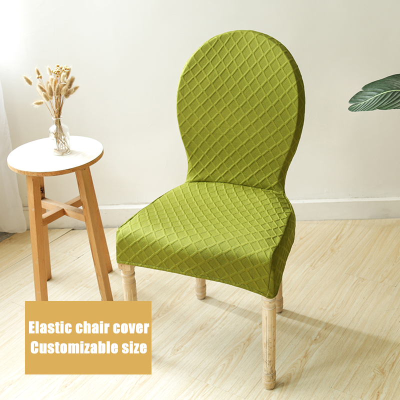 Jaher дома кресла Seat Обложка жаккардовые чехлы из спандекса протектор чехол чехлы для стульев стрейч для Кухня отель Банкетный пуф крышка
