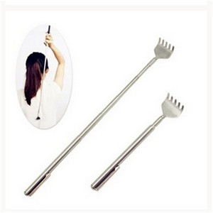Hot Deal Massage Tools Stainless Steel Telescopic Portable Extendable Handy Pocket Pen Clip Back Scratcher Massage & Relaxation(China)