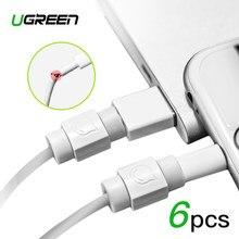 Ugreen-Protector de Cable USB para cargador de iPhone, Protector de Cable USB para iPhone 12