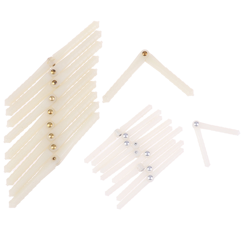 10pcs/Lot Super Light Pivot Pinned and Round Hinges For RC Airplanes Parts