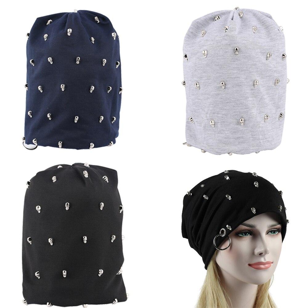 Sleeve Head Hat Hiphop Punk Rock Plain   Beanie   Turban Hats Bonnet Femme Baggy   Beanies   for Men Women   Skullies   Wrap Cap Pompon Caps