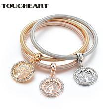 Toucheart 3 шт Европейская и американская мода золотой цвет