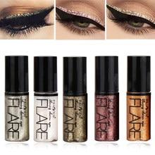 Nieuwe Professionele Shiny Eye Liners Cosmetica Voor Vrouwen Pigment Zilver Rose Goud Kleur Liquid Glitter Eyeliner Goedkope Make-Up