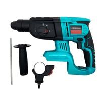 Hammer Bohrer Elektrische Rotary Hammer Perforator Bohrer Auswirkungen Funktion 21V Für Makita Batterie-in Elektrische Hämmer aus Werkzeug bei