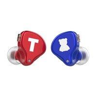 TFZ S2 PRO High quality HIFI Earphones Dynamic Driver Hybrid In ear Earphones Monitor Earbuds Earphones Detachable 0.78mm 2 Pin