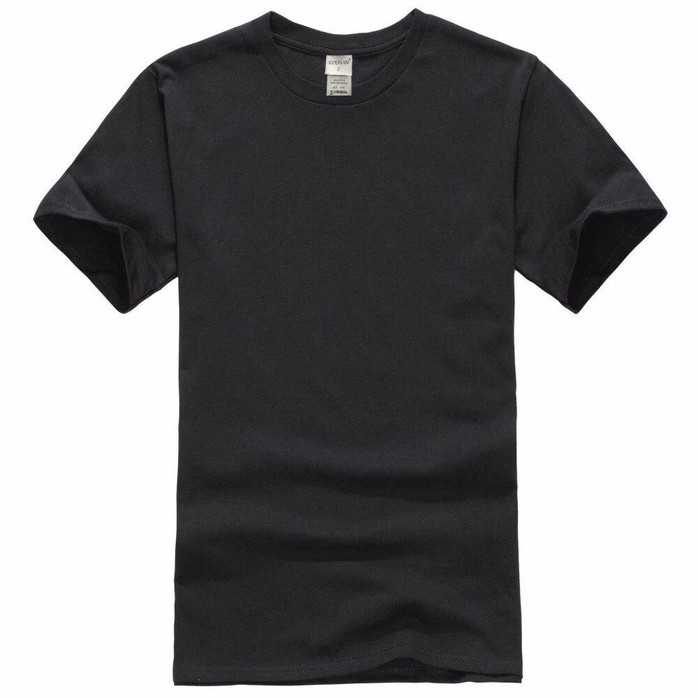 Новинка 2019, однотонная мужская футболка, черная и белая, 100% хлопок, летние футболки для скейтборда, футболка для мальчиков, европейский