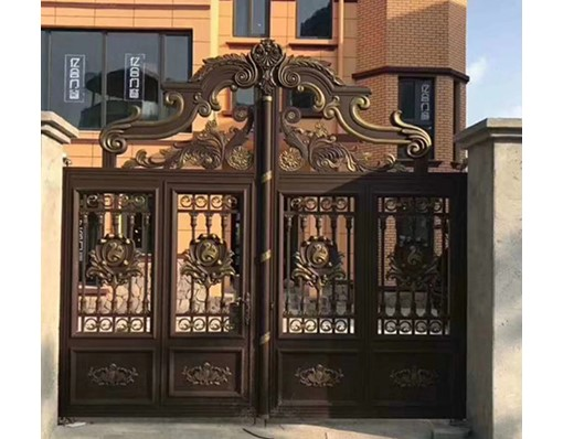 Hot Selling Indian House Main Aluminium Gate Designs Driveway Gates