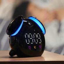 LED horloge numérique réveil lumière réveil lampe de Table lever du soleil coucher de soleil Mode veilleuse pour Snooze fonction enfants horloge de bureau