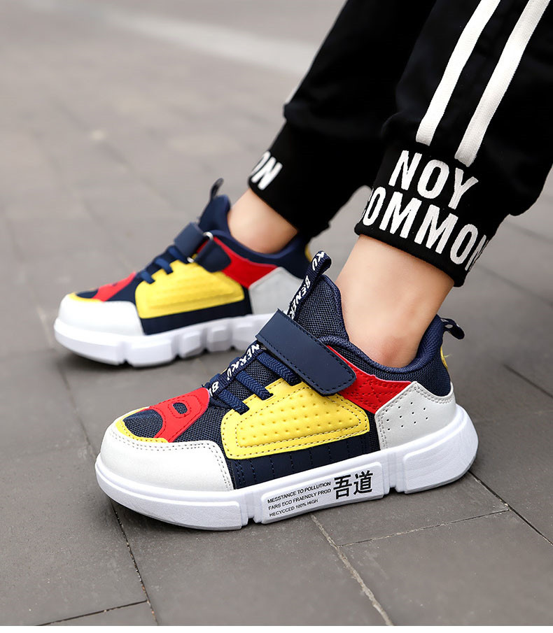 PINSEN 2019 Autumn Kids Sneaker Girls Shoes Fashion Breathable Casual Light Sports Running Shoes For Boys Brand Children Shoes (7)