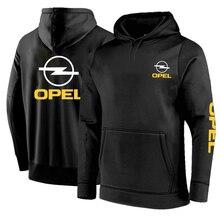 2021 OPEL Autumn Winter Men's Comfortable Hoodies Sweatshirts Quality Streetwear Male Pullovers Hot Sale Cotton Tops Casual Man