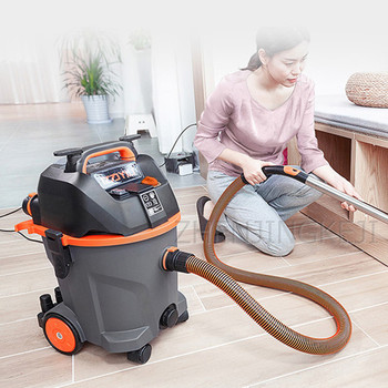 Commercial Vacuum Cleaner 1400W High Power And Suction Large Capacity 25L Vacuum Tools Flapping Household Cleaning Appliances