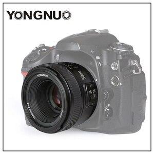 Image 5 - Yongnuo YN50mm F1.8 C/N Ống Kính Lớn Apeature Tự Động Lấy Nét Cho Canon Nikon DSLR Camera 500D 600D 120D D5100 D5200 D7000 D3500 d90 D3