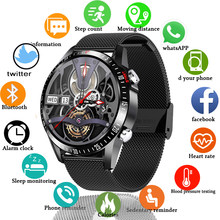 2021 New Fashion Smart Watch Mens Bluetooth Call luxury Smart Watches Male Heart Rate Blood Pressure Sports smartwatch For Men