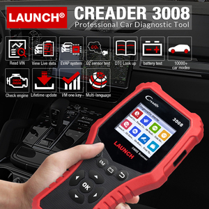 Image 2 - เปิดตัวCR3008เครื่องสแกนเนอร์แบตเตอรี่OBDเครื่องมือวินิจฉัยรถยนต์รหัสReader OBD2เครื่องสแกนเนอร์OBDII OBDเครื่องยนต์Kw850 Creader 3008