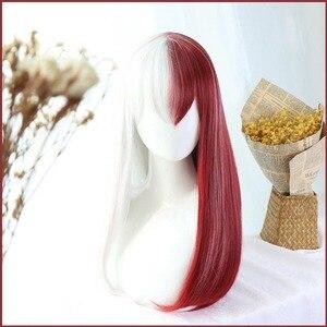 Image 5 - Женский длинный парик DIOCOS Boku no My Hero академия, женский парик для косплея мидория