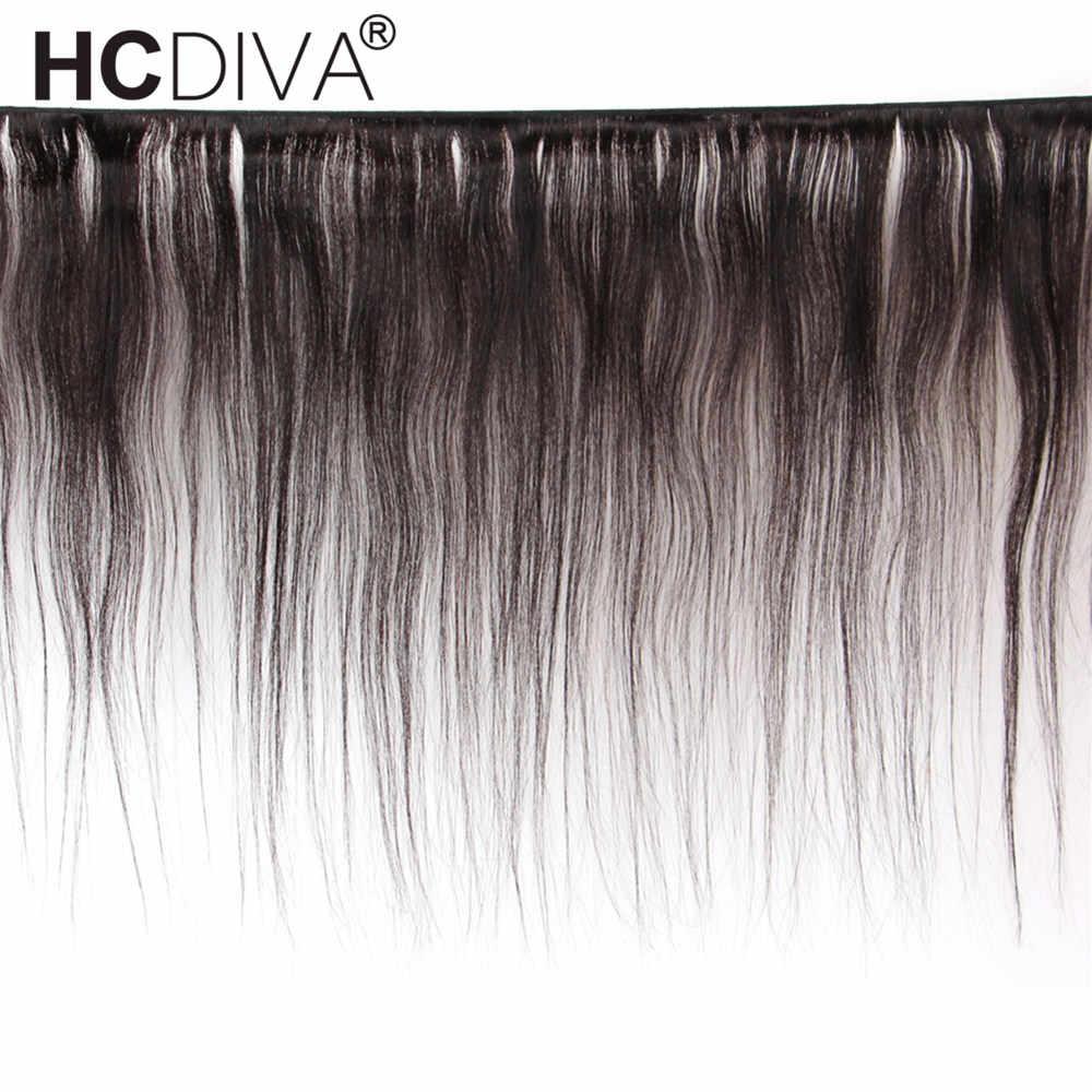 Pelo Liso peruano precoloreado con cierre 34 36 38 40 pulgadas extensiones de cabello humano Remy 3 mechones con cierre para mujer