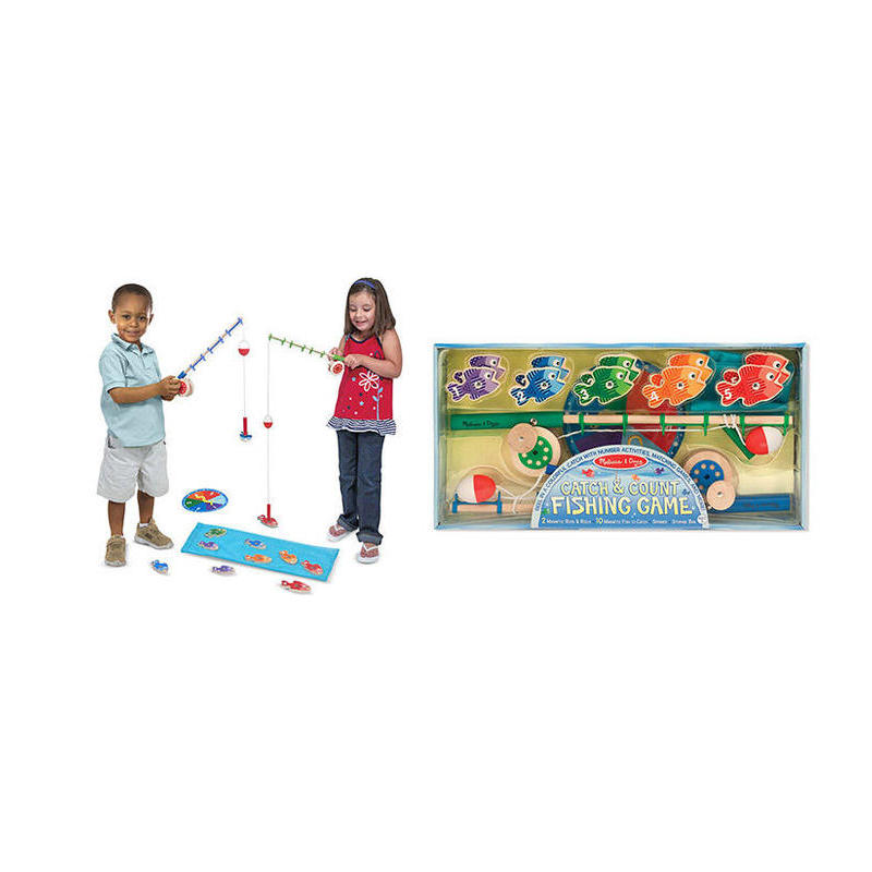 Catch & Count Fishing Game M & D Toy Store Articles Created Handbook