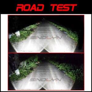 Image 5 - Sinolyn Bi XenonหมอกไฟสำหรับFord Focus 2 MK2 Fiesta/CITROEN C4/Subaru Forester/Honda fit/Suzuki Swift H11 โคมไฟHID Retrofit