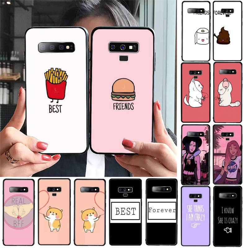 Bff Best Friends Forever Coque чехол для телефона Samsung Galaxy S20 S10 Plus S10E S5 S6 S7edge S8 S9 S9Plus S10lite 2020