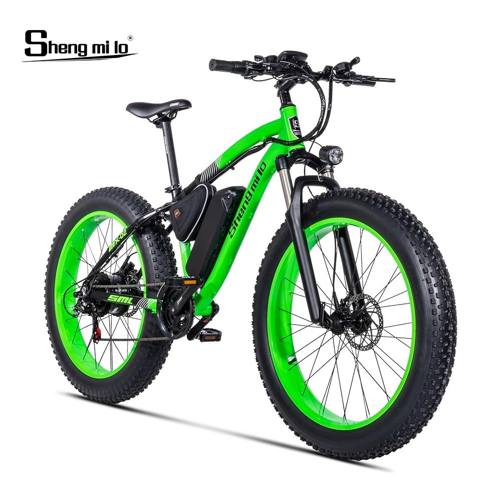 Electric bike BAFANG 500W Beach auxiliary bicycle 48V17AH electric sand car 26 inch electr