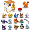 20 styles Pokemons blocks Funny joy children Pikachu diamond particle blocks puzzle toy 1