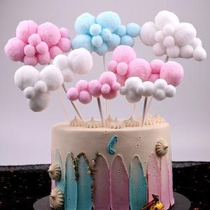 cloud birthday cake topper