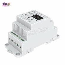 DL DC5V 24V DMX512 zu 4CH 0 10V Decoder 0 10V LED Dimmer DMX 512 Signal zu 0 10V Signal RGB/RGBW controller 4 Kanal Dimmer