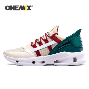 ONEMIX Men Running Shoes Lightweight Breathable Mesh Athletic Sports Shoes for Outdoor Jogging Women Walking Sneakers Size 35 47 1