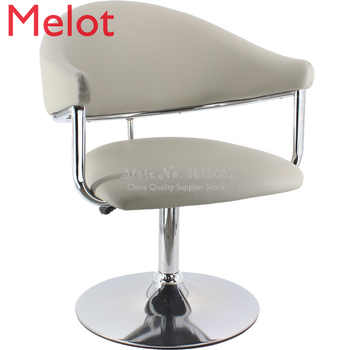 Simple Barber Shop Chair Hair Salon Dedicated Barber Chair Beauty Salon Stool American Style Trend Net Red Lifting Chair