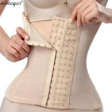 Корсет для коррекции фигуры, моделирующий пояс для талии, Корректирующее белье со стальными Костями для женщин, послеродовой пояс для живота, пояс для похудения