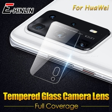 Lente de cámara trasera transparente de vidrio templado para HuaWei P40 Pro Plus Lite E P30 XL Mate Honor View 30 Pro 5G película protectora de pantalla trasera
