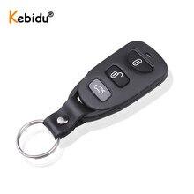 Kebidu controle remoto universal 433mhz, duplicador de controle remoto para carros, garagem, entrada remoto