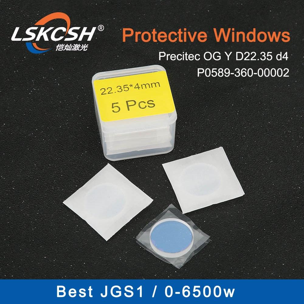 Detritos LSKCSH 20 pçs/lote Melhor qualidade laser janela OG YD22.35 d4 P0589-360-00001/2 para máquinas de corte a laser de fibra IPG 0-6500W
