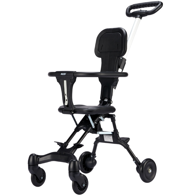 Baby Stroller, Two-way Seat, Foldable, Lightweight, Four-wheel Stroller, Delivery on Behalf Of