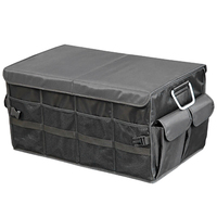 Car Trunk Organizer Oxford Car Back Folding Portable Storage Tool Bag Multi Use Food Organizers Auto Collapsible Storage Box|Stowing Tidying|Automobiles & Motorcycles -