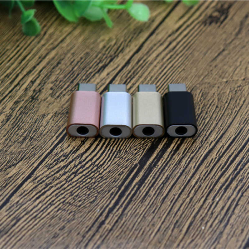 3.5mm Headphone Adapter Universal USB Type-C Mobile Connector Injection Type C Headphone Connector