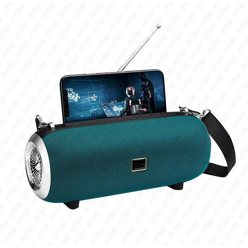 Мощная колонка, Беспроводная Bluetooth колонка, мощная портативная уличная колонка, водонепроницаемая звуковая панель, бумбокс, держатель для т...