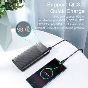 "Image 5 - KUULAA כוח בנק 20000 mAh QC פ""ד 3.0 PoverBank מהיר טעינת PowerBank 20000 mAh USB חיצוני סוללה מטען עבור Xiaomi mi 10 9"