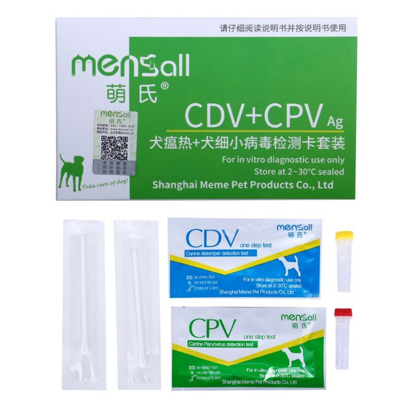 Pet Canine Dog Hot CDV CPV Parvovirus Detection Paper Test Card