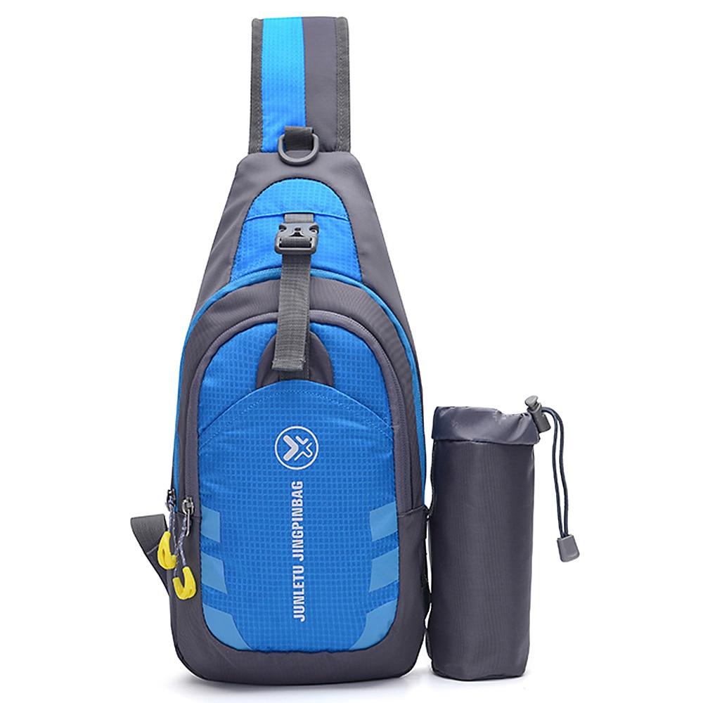 Lixada Outdoor Waterproof Chest Sling Pack Unisex Sling Backpack Chest Crossbody Bag Shoulder Bag Travel Sports Gym Daypack