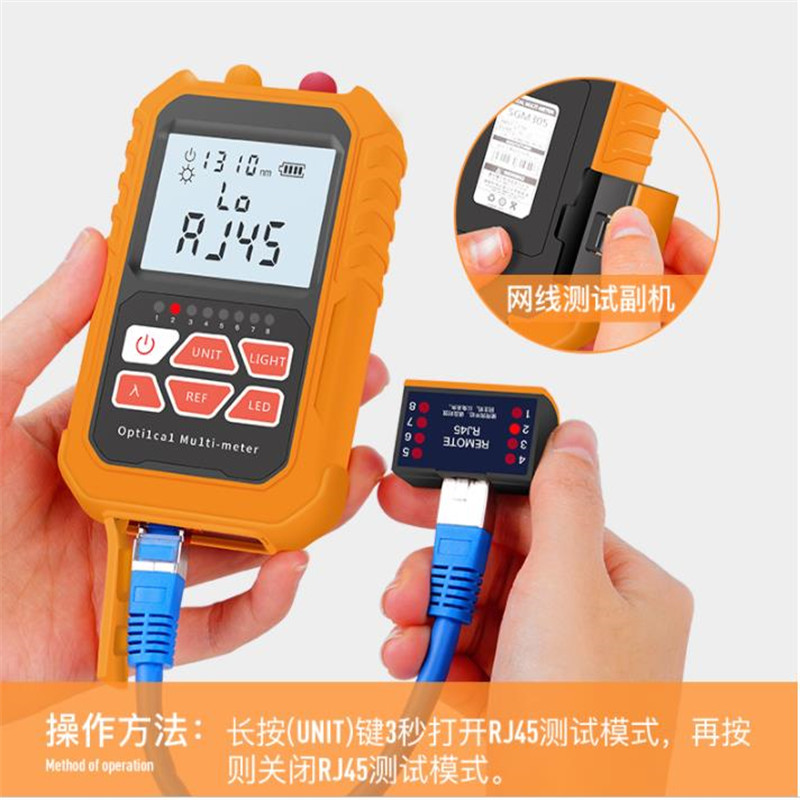 Image 5 - 3in1  Optical Power Meter Visual Fault Locator Network Cable Test  optical fiber tester, 15mw Visual Fault Locator-in Fiber Optic Equipments from Cellphones & Telecommunications