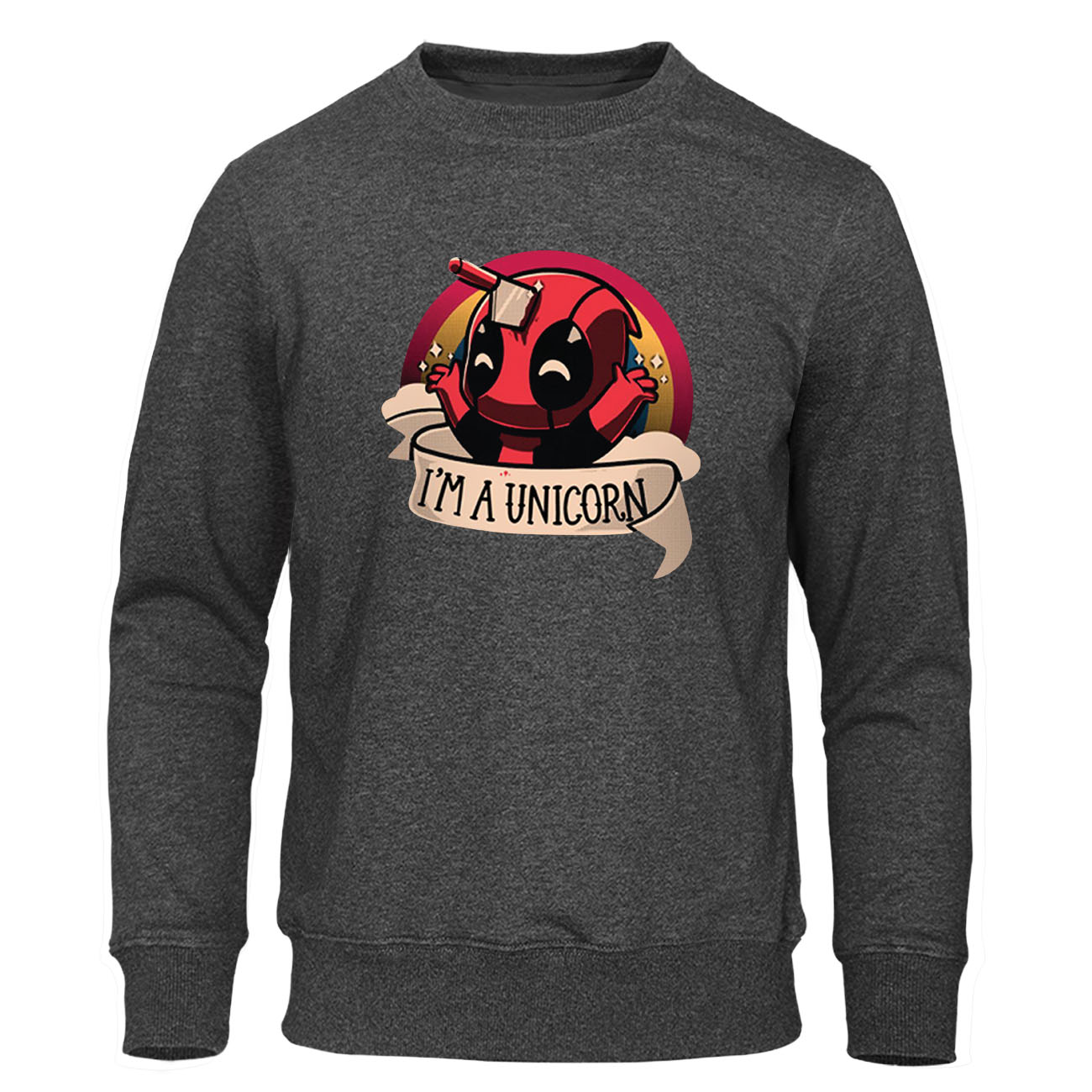 2019 Winter Autumn Hoodies Casual Funny Deadpool Sweatshirt Hop Hip Mens Pullover Fleece Men Clothes Harajuku Streetwear Hoody
